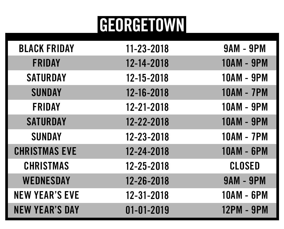 D.C. Georgetown