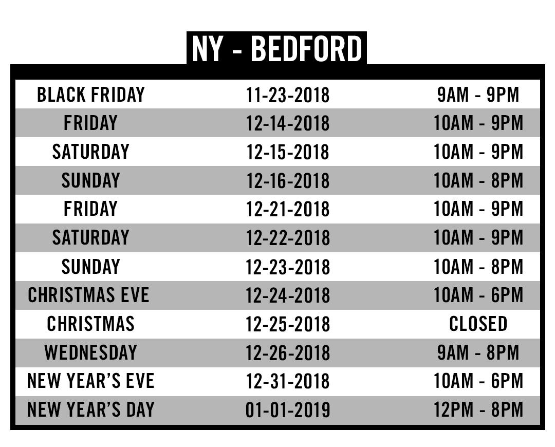 NY Bedford