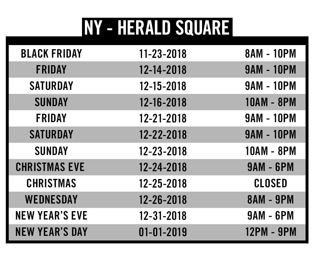 NY Herald Square