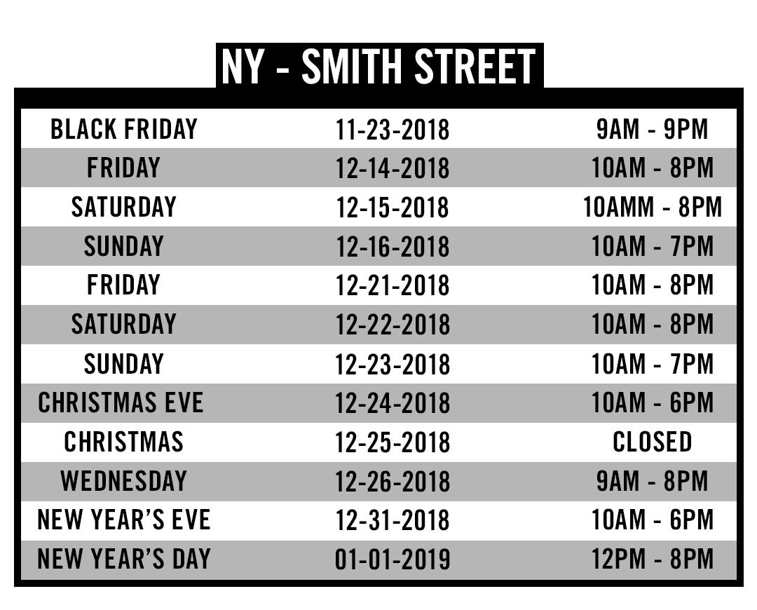 NY Smith St