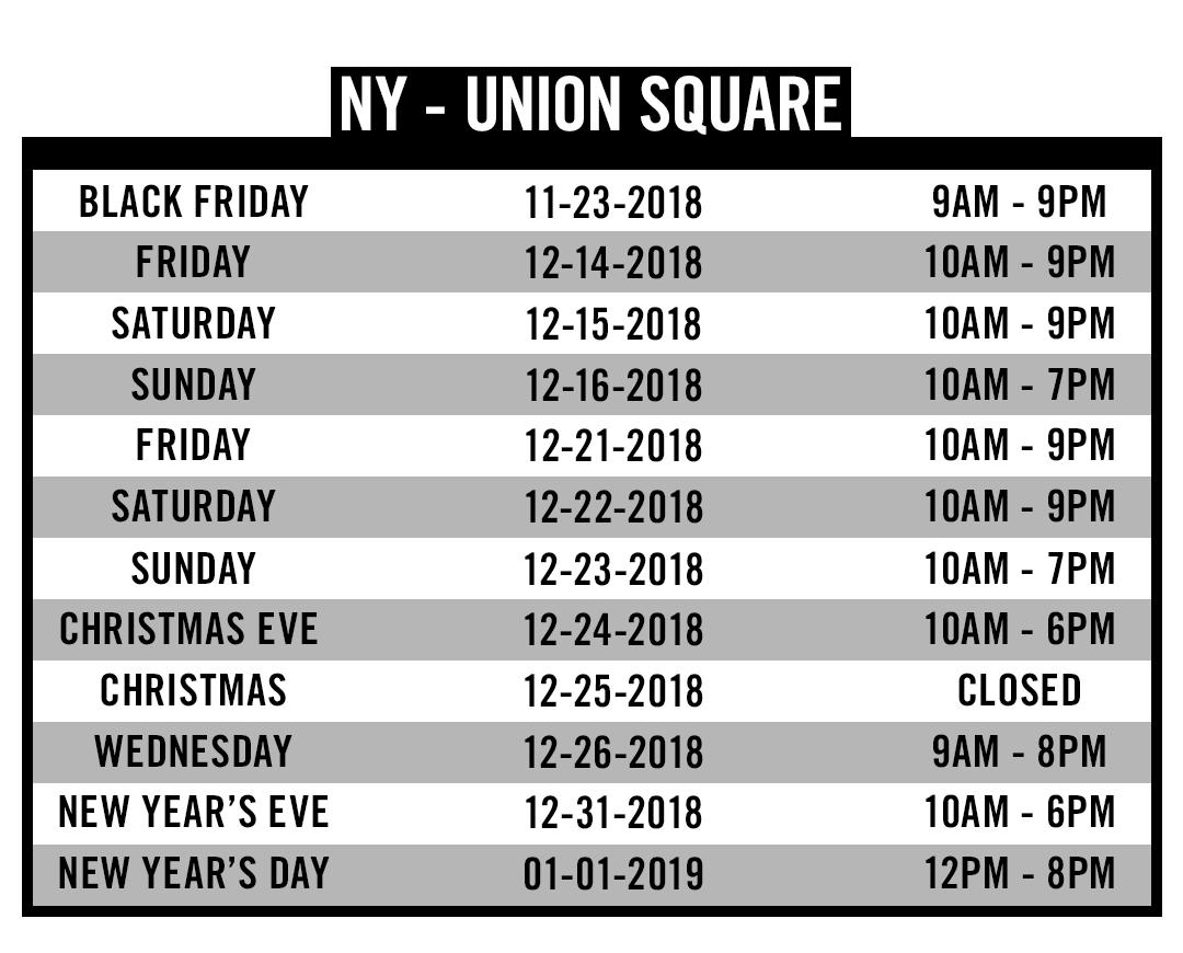 NY Union Square