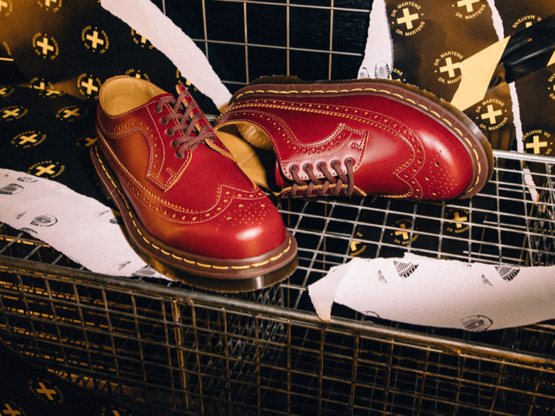 Gifts for Him - Made in England 3989 Oxblood Brogue Shoes