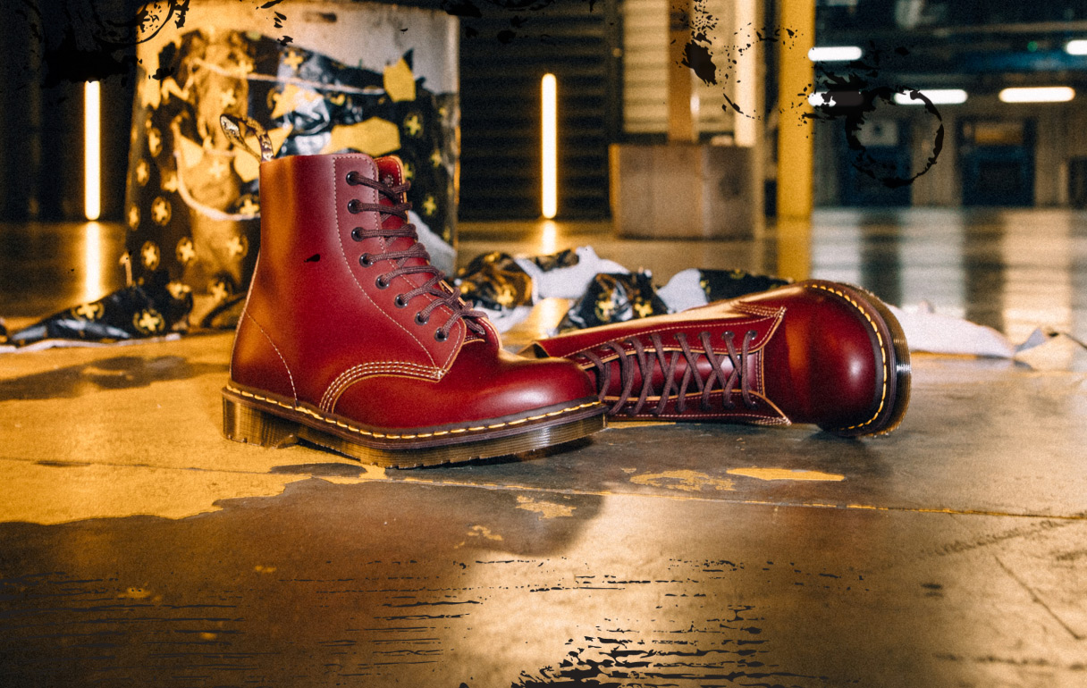 Made in England Category - Vintage 1460 Oxblood Boots
