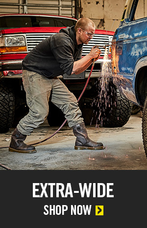 Extra Wide Work Boots Category Shop Now