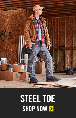 Steel Toe Work Boots Category Shop Now